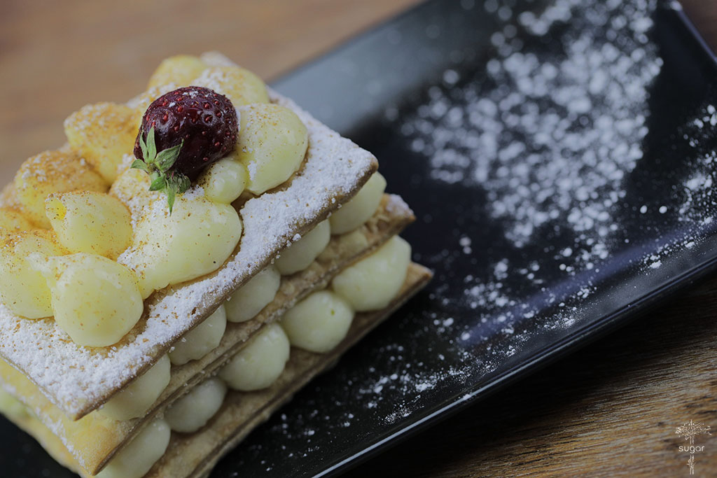 Sugar Cafe - Cocktail Bar - Gialova Messinia - millefeuille