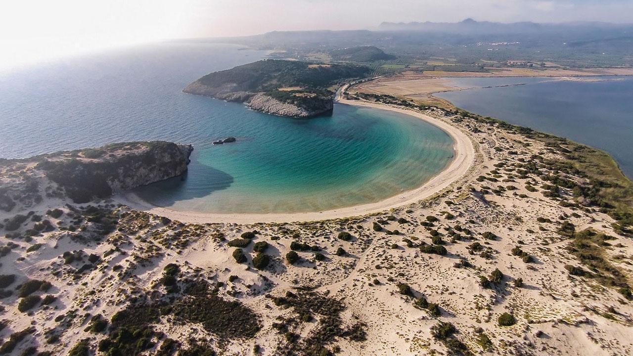 Voidokoilia beach (romanoscostanavarino.com)